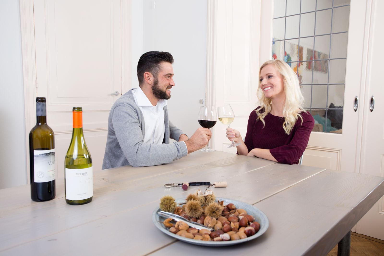 Provinto wijn aan tafel